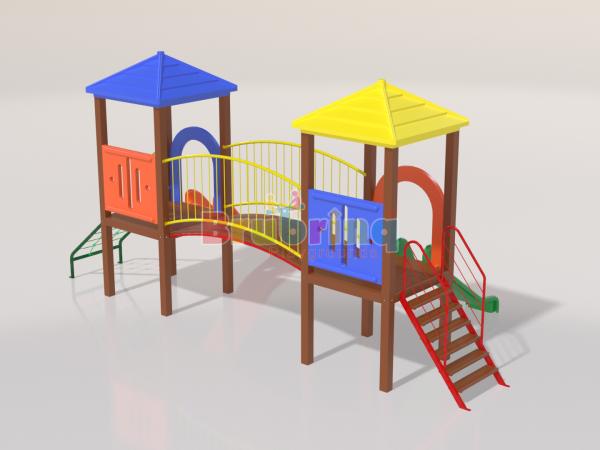 Playground madeira plastica modelo me 103 da marca brubrinq