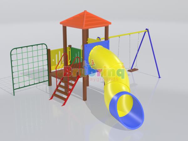Playground madeira plastica modelo ME 108 marca Brubrinq