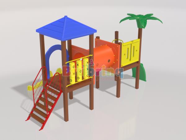 Playground madeira plastica modelo ME 109 marca Brubrinq
