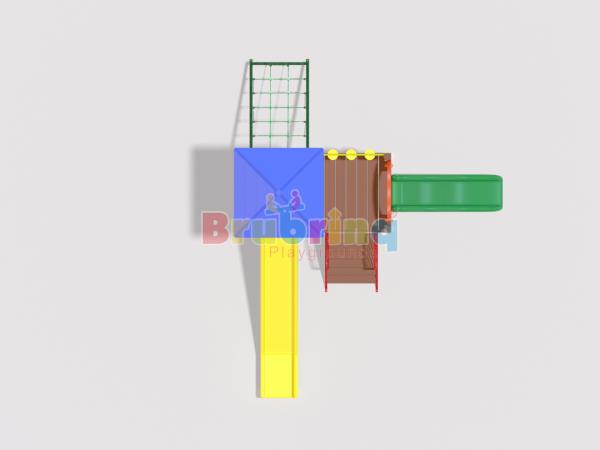 Playground madeira plastica modelo ME 201 marca Brubrinq