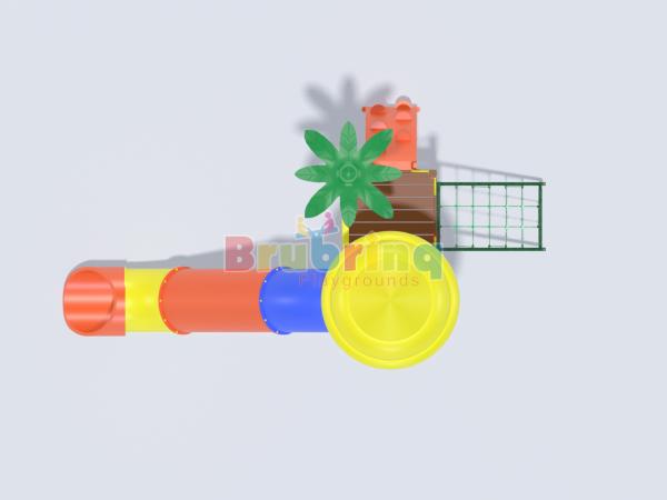 Playground madeira plastica modelo ME 207 marca Brubrinq